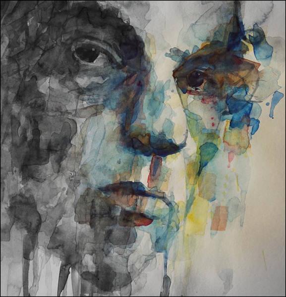 Wall Art - Painting - Van Morrison - Astral Weeks  by Paul Lovering