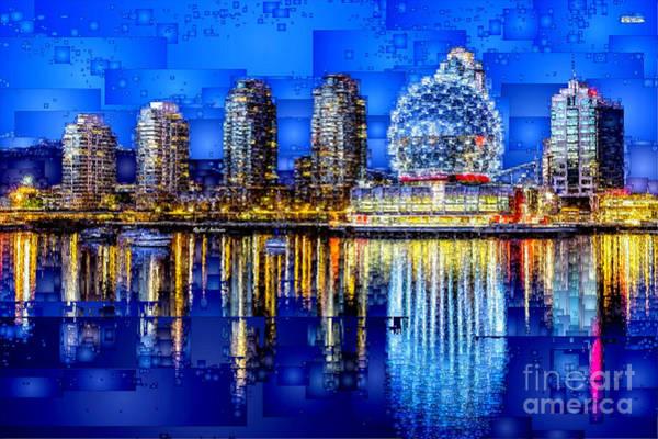 Digital Art - Vancouver British Columbia Canada by Rafael Salazar