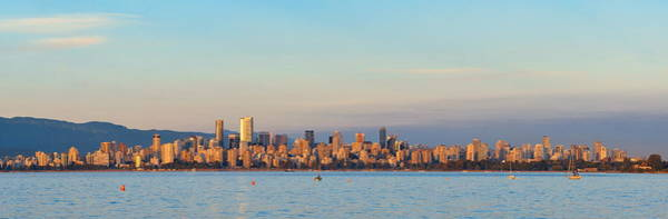 Photograph - Vancouver City Skyline by Songquan Deng