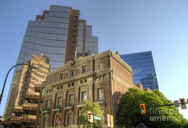 Photograph - Vancouver Cityscape 4 by David Birchall