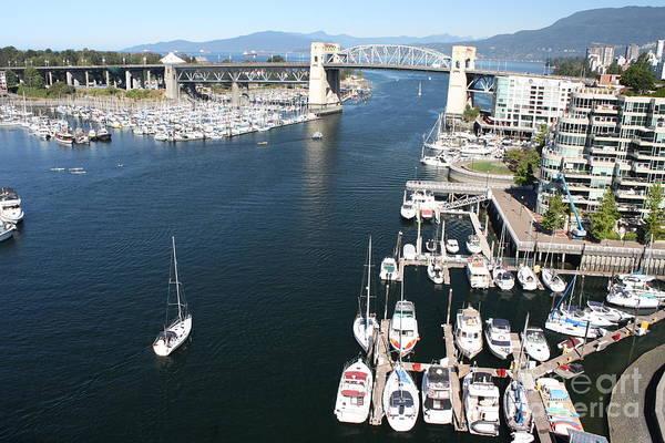 Photograph - Vancouver From Above by Wilko Van de Kamp