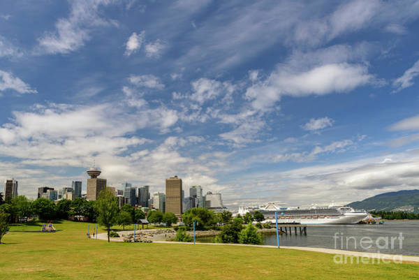 Wall Art - Photograph - Vancouver On A Sunny Summer Day by Viktor Birkus