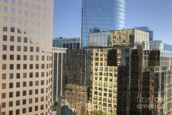 Photograph - Vancouver Reflections by David Birchall