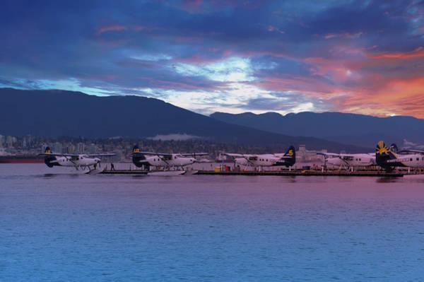Seaplanes Photograph - Vancouver Sea Port  by Art Spectrum
