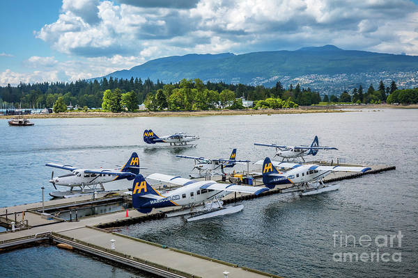 Seaplanes Photograph - Vancouver Seaplanes by Inge Johnsson