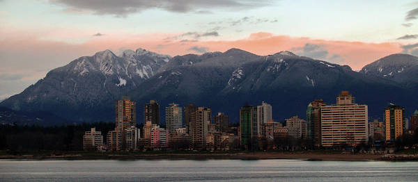 Photograph - Vancouver Skyline by Adrian O Brien