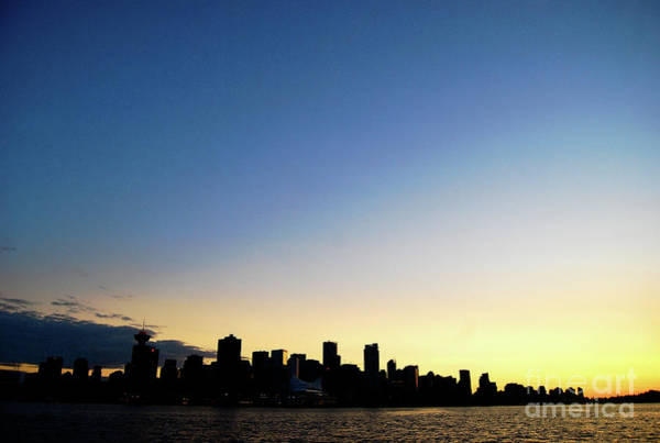 Cesar Wall Art - Photograph - Vancouver Skyline by Cesar Marino