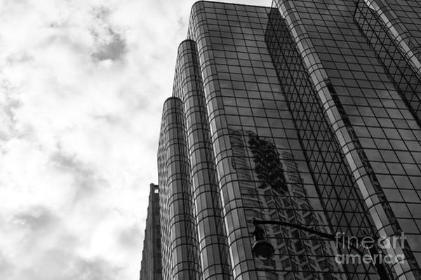 Wall Art - Photograph - Vancouver Skyscraper Angles Mono by John Rizzuto