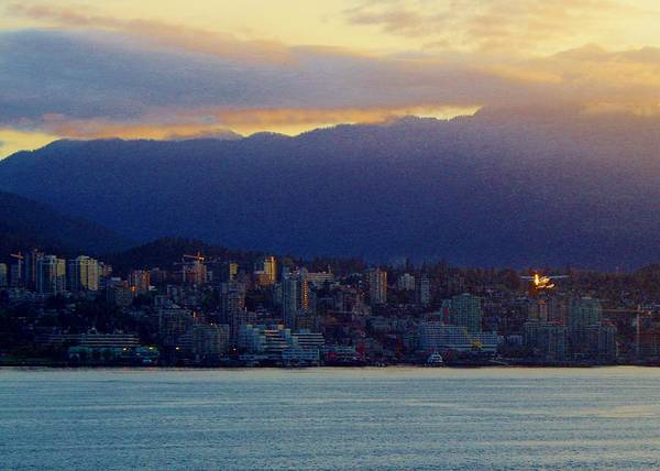 Photograph - Vancouver Sunrise 2 by Phyllis Spoor