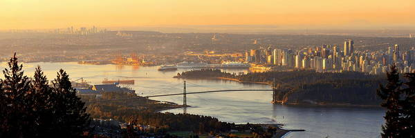 Photograph - Vancouver Sunrise by Songquan Deng
