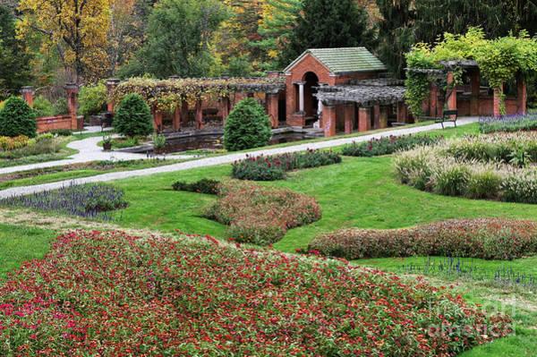 Wall Art - Photograph - Vanderbilt Formal Garden by John Greim