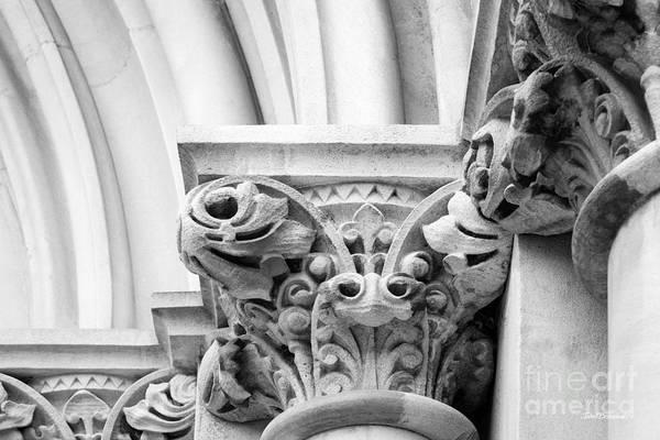 Photograph - Vanderbilt University Kirkland Hall Detail by University Icons