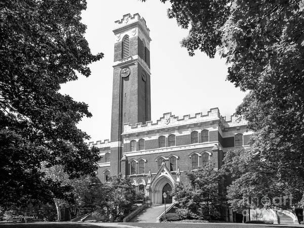 Southeastern Photograph - Vanderbilt University Kirkland Hall by University Icons