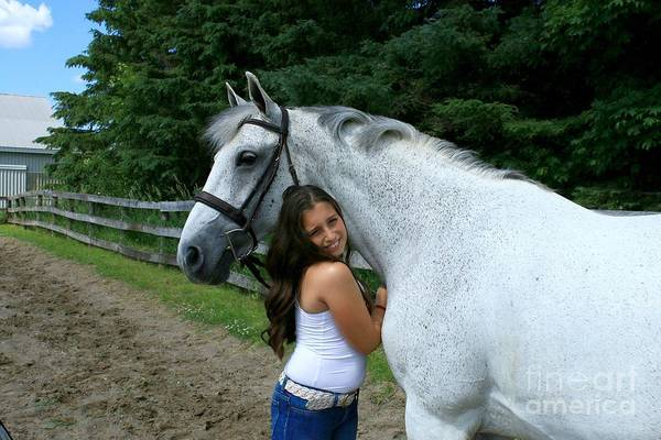 Photograph - Vanessa-ireland14 by Life With Horses