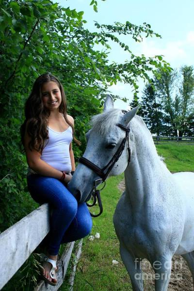 Photograph - Vanessa-ireland16 by Life With Horses