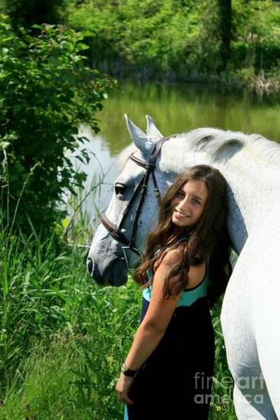 Photograph - Vanessa-ireland38 by Life With Horses