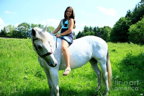 Photograph - Vanessa-ireland41 by Life With Horses