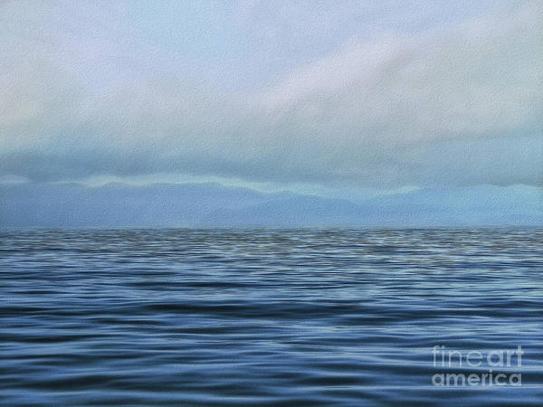 Photograph - Vanishing Blue by Leigh Kemp