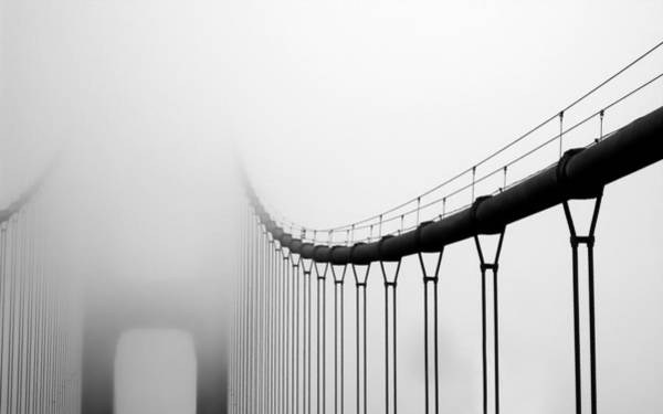 Photograph - Vanishing Bridge by Matt Hanson