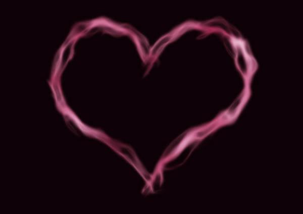 Appeal Digital Art - Vapor Heart Shape by Allan Swart