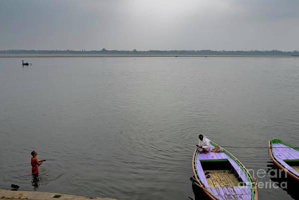 Photograph - Varanasi Morning by M G Whittingham