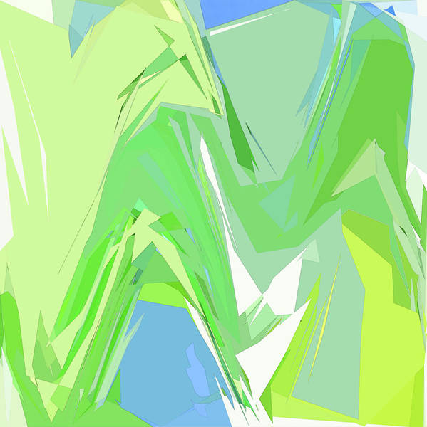 Digital Art - Variation 4 Alpine Spring by Gina Harrison