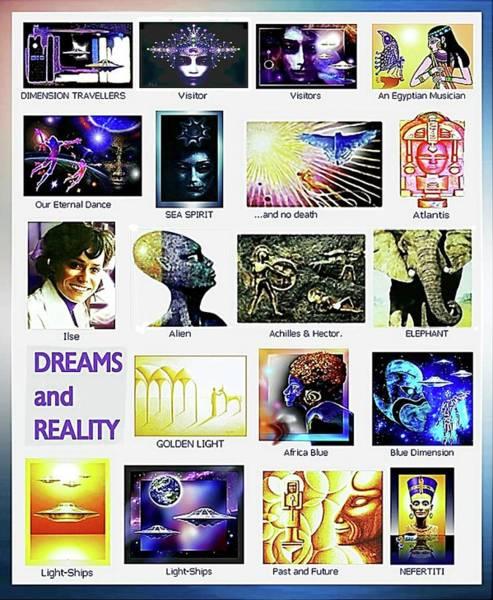 Mixed Media - Variety  by Hartmut Jager