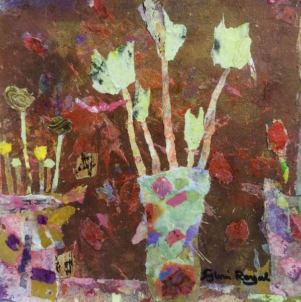 Wall Art - Painting - Various Flowers by Sylvia Royal