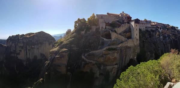 Wall Art - Photograph - Varlaam Monastery Panorama At Meteora by Iordanis Pallikaras