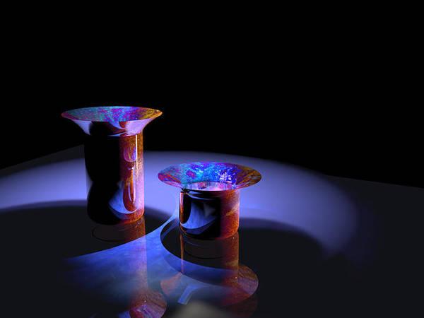 Digital Art - Vase 2 by Paul Gaj