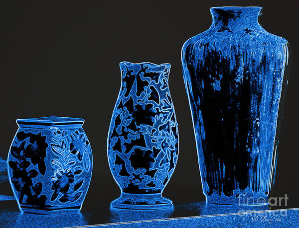 Photograph - Vases 1 by Donna Bentley