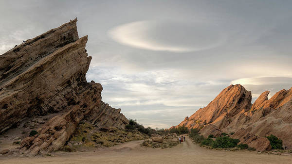 Photograph - Vasquez Rocks Late Afternoon by Michael Hope