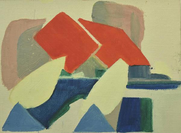 Painting - Vastkusten, West Coast,hamburgsund 1985_1249 Up To 120 X 90 Cm by Marica Ohlsson