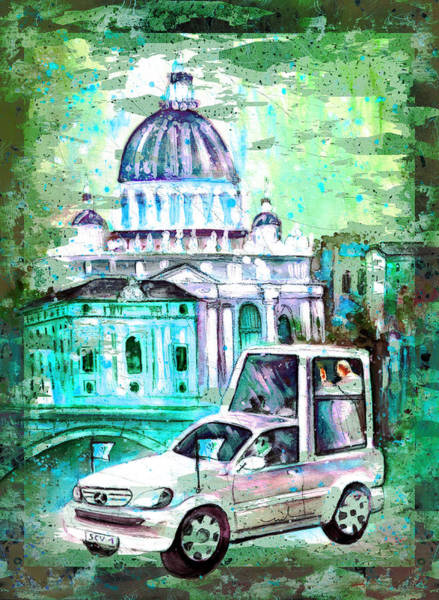 Painting - Vatican Authentic Madness by Miki De Goodaboom