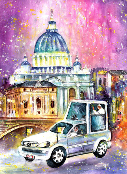 Painting - Vatican Authentic by Miki De Goodaboom