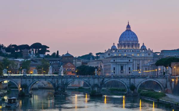 Vatican City At Sunset Art Print