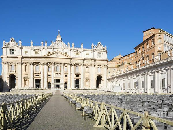 Apostolic Palace Photograph - Vatican by Lasse Ansaharju