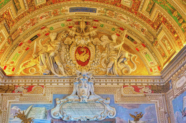 Photograph - Vatican Museum Room Entrance by Gary Slawsky