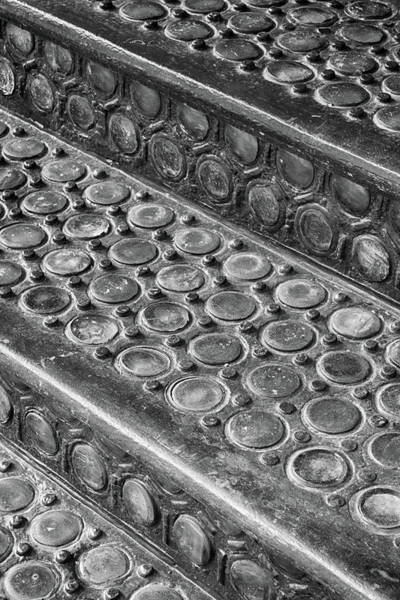 Photograph - Vault Lights Monochrome by Cate Franklyn