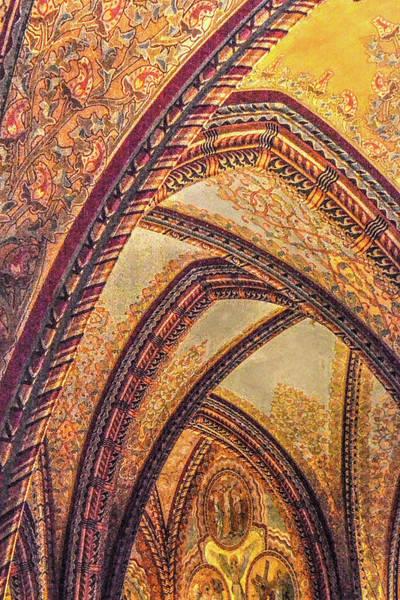 Photograph - Vault Of Matthias Church by Michael Kirk