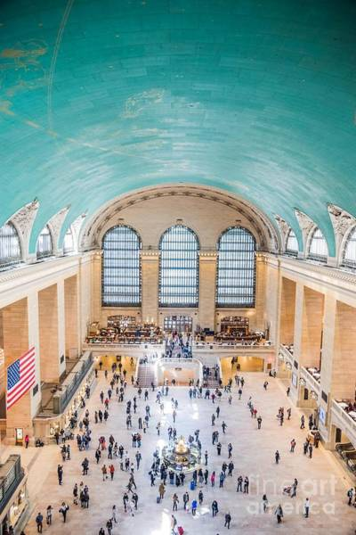Photograph - Vault Of The Heavens At Grand Central Terminal by Jim DeLillo