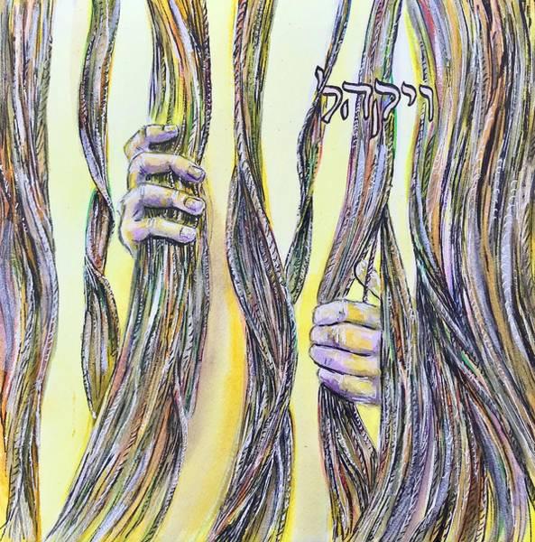 Painting - Vayakhel by Starr Weems