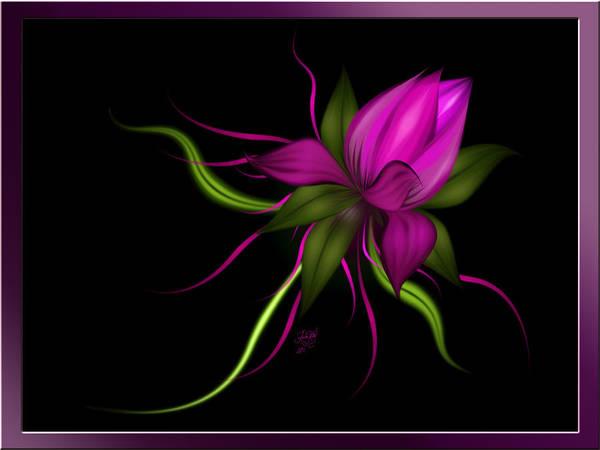 Digital Art - Vector Flower by Karla White