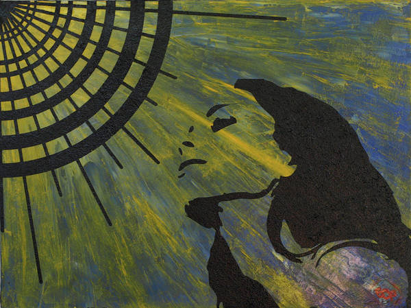 Painting - Vector Sunrise by Erik Paul