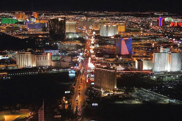 Wall Art - Photograph - Vegas Lights by Gerard Fritz