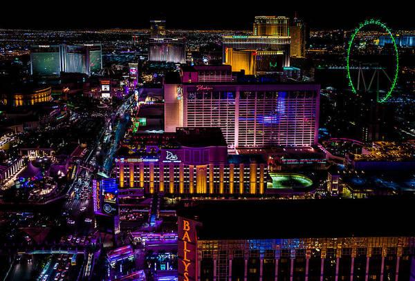 Photograph - Las Vegas Strip by M G Whittingham