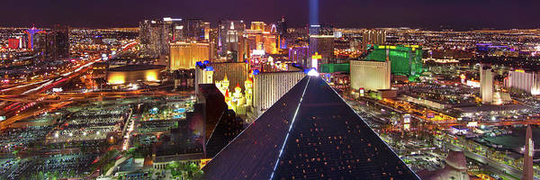 Blvd Photograph - Vegas Lights by Mikes Nature