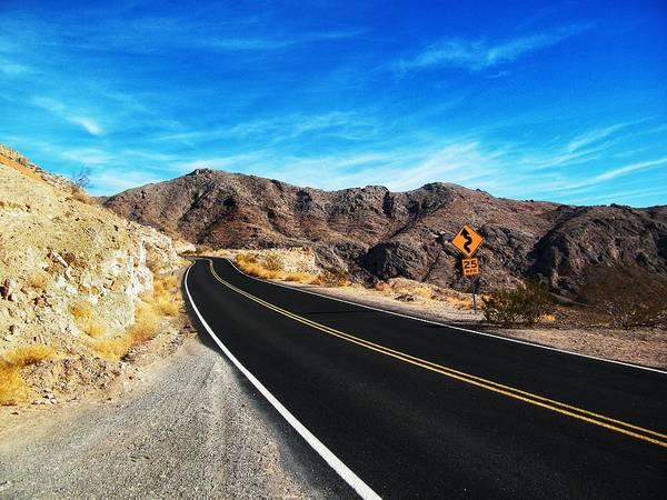 Photograph - Vegas Road  by Joseph Caban