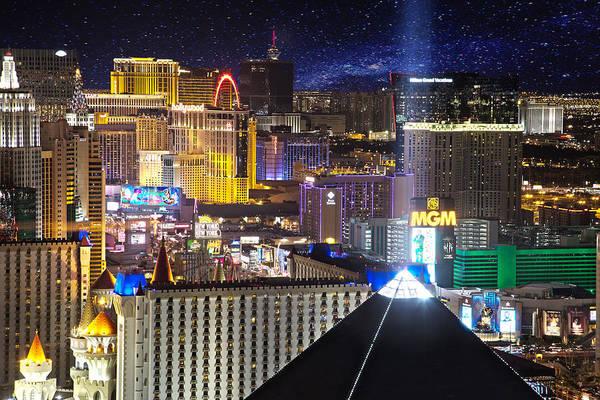Photograph - Vegas Strip by Matt Cohen