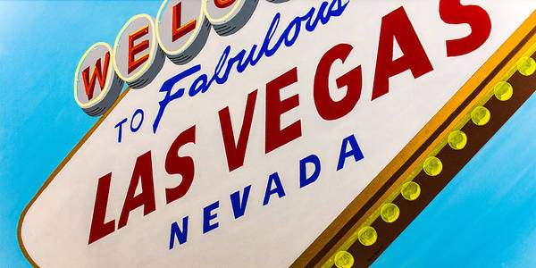 Neon Sign Painting - Vegas Tribute by Slade Roberts